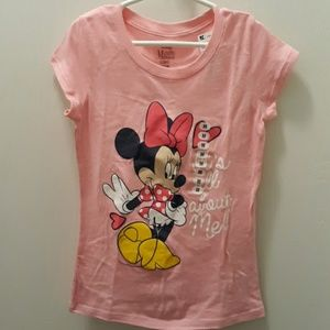 NWT Disney Minnie Mouse graphic shirt med